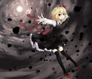 Rating: Safe Score: 31 Tags: cloudy.r rumia thighhighs touhou User: Radioactive