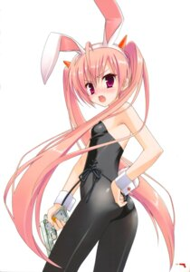 Rating: Safe Score: 55 Tags: animal_ears bunny_ears bunny_girl hidan_no_aria kanzaki_h_aria kobuichi pantyhose User: Anonymous
