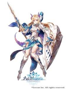 Rating: Safe Score: 5 Tags: armor ast_memoria horns nemusuke sword tail thighhighs User: Dreista