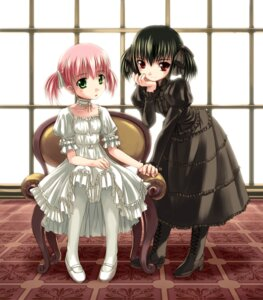 Rating: Safe Score: 25 Tags: askray bosshi dress gothic_lolita lolita_fashion moe_(character) yu User: Radioactive
