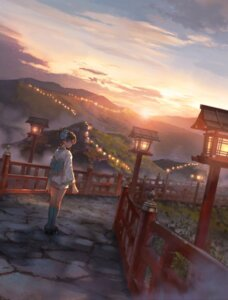 Rating: Safe Score: 20 Tags: landscape tagme yukata User: hiroimo2