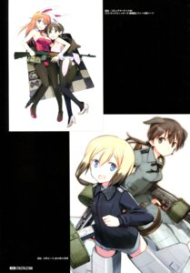 Rating: Questionable Score: 12 Tags: animal_ears bunny_ears bunny_girl charlotte_e_yeager erica_hartmann gertrud_barkhorn gun heels shimada_humikane strike_witches tail User: Radioactive