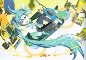 Rating: Safe Score: 14 Tags: 119 binding_discoloration hatsune_miku vocaloid User: withul