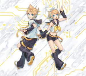 Rating: Safe Score: 21 Tags: headphones kagamine_len kagamine_rin tagme vocaloid User: eccdbb