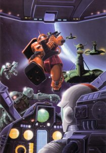 Rating: Safe Score: 2 Tags: amuro_ray gundam mecha mobile_suit_gundam okawara_kunio User: Radioactive