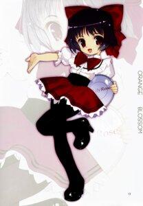 Rating: Safe Score: 13 Tags: chibi lily_lily_rose mibu_natsuki pantyhose waitress User: blooregardo