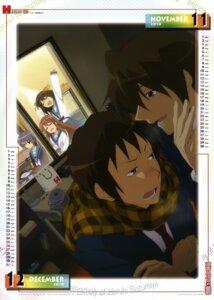 Rating: Safe Score: 22 Tags: asahina_mikuru calendar koizumi_itsuki kyon nagato_yuki suzumiya_haruhi suzumiya_haruhi_no_yuuutsu utsumi_hiroko User: akak4747tf