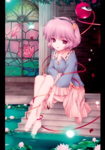 Rating: Questionable Score: 52 Tags: feet komeiji_satori mone_keshi_gum monety touhou wet User: Radioactive