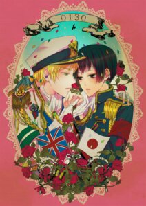 Rating: Safe Score: 3 Tags: botan_(obutton) hetalia_axis_powers male uniform yaoi User: Radioactive