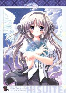 Rating: Safe Score: 20 Tags: hisuitei izumi_tsubasu seifuku wings User: midzki
