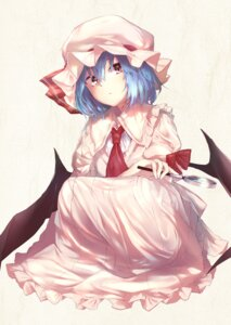 Rating: Safe Score: 35 Tags: remilia_scarlet sakusyo touhou wings User: Nepcoheart