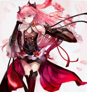 Rating: Safe Score: 69 Tags: cleavage dress krul_tepes owari_no_seraph pointy_ears tagme thighhighs User: charunetra
