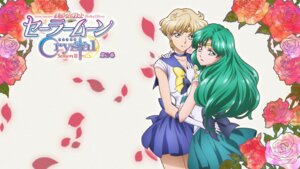 Rating: Safe Score: 11 Tags: disc_cover kaiou_michiru sailor_moon sailor_moon_crystal sakou_yukie tenou_haruka wallpaper User: saemonnokami