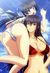 Rating: Questionable Score: 121 Tags: ass ass_grab bikini cleavage kawakami_momoyo kubo_satoshi maji_de_watashi_ni_koi_shinasai! mayuzumi_yukie swimsuits underboob watanabe_mayumi yuri User: Ravenblitz