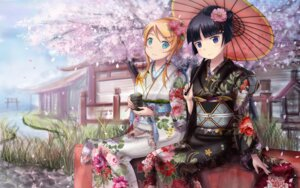 Rating: Safe Score: 69 Tags: edogawakid gokou_ruri kimono kousaka_kirino ore_no_imouto_ga_konnani_kawaii_wake_ga_nai User: 椎名深夏