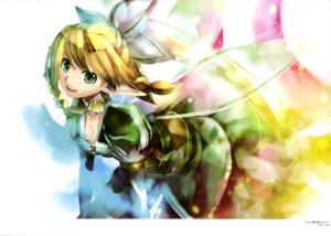 Rating: Safe Score: 27 Tags: alfheim_online cleavage kei leafa pointy_ears sword_art_online wings User: drop