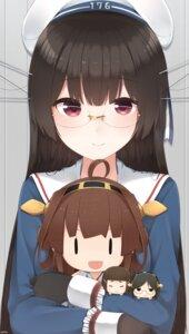 Rating: Safe Score: 29 Tags: chibi choukai_(kancolle) kantai_collection kirishima_(kancolle) kongou_(kancolle) megane myoukou_(kancolle) seifuku yukichi_(sukiyaki39) User: Radioactive