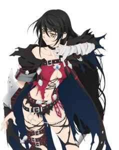 Rating: Safe Score: 62 Tags: armor bandages bandai_namco cleavage digital_version inomata_mutsumi no_bra tales_of tales_of_berseria thighhighs torn_clothes velvet_crowe User: Radioactive