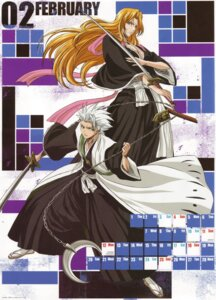 Rating: Safe Score: 3 Tags: bleach calendar cleavage hitsugaya_toushirou matsumoto_rangiku screening sword User: charunetra