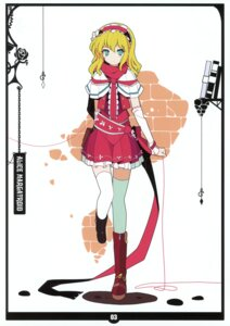 Rating: Safe Score: 30 Tags: alice_margatroid ideolo neko_worki thighhighs touhou User: fireattack
