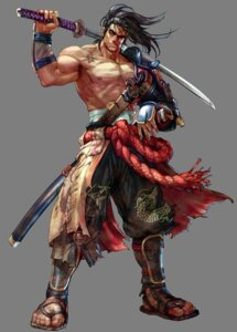 Rating: Safe Score: 13 Tags: armor heishirou_mitsurugi japanese_clothes kawano_takuji male samurai soul_calibur soul_calibur_iv sword transparent_png User: Radioactive