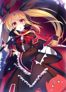 Rating: Safe Score: 48 Tags: blazblue cosplay dress fate_testarossa gothic_lolita lolita_fashion mahou_shoujo_lyrical_nanoha rachel_alucard raiou umbrella User: Mr_GT