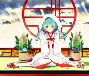Rating: Safe Score: 46 Tags: hatsune_miku rugo vocaloid yuki_miku User: mula3