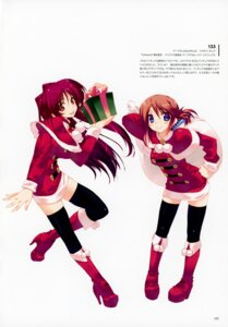 Rating: Questionable Score: 13 Tags: amaduyu_tatsuki christmas komaki_manaka kousaka_tamaki thighhighs to_heart_(series) to_heart_2 User: Radioactive