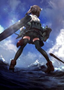 Rating: Questionable Score: 75 Tags: ass bike_shorts heels hitomaru kantai_collection mecha_musume pantsu see_through taihou_(kancolle) thighhighs User: Radioactive
