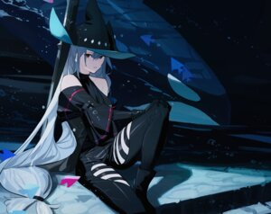 Rating: Safe Score: 20 Tags: arknights garter leiq skadi_(arknights) witch User: Mr_GT