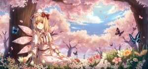 Rating: Safe Score: 17 Tags: lily_white touhou wings yezhi_na User: ddns001