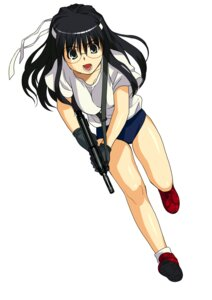 Rating: Safe Score: 6 Tags: a1 gym_uniform initial-g read_or_die yomiko_readman User: Radioactive