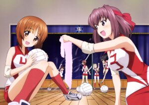 Rating: Questionable Score: 13 Tags: girls_und_panzer gym_uniform isobe_noriko isuzu_hana kawanishi_shinobu kondou_taeko nishizumi_miho possible_duplicate sasaki_akebi towel yoshida_nobuyoshi User: drop