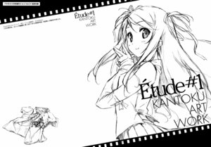 Rating: Safe Score: 25 Tags: kantoku monochrome sketch User: Kalafina