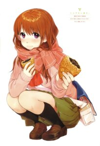 Rating: Safe Score: 25 Tags: kawai_makoto koufuku_graffiti machiko_ryou seifuku sweater User: fireattack