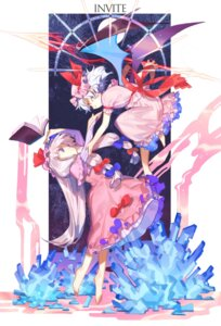 Rating: Safe Score: 22 Tags: dress patchouli_knowledge remilia_scarlet tagme touhou wings User: nphuongsun93