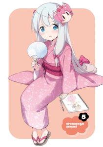 Rating: Safe Score: 57 Tags: eromanga-sensei izumi_sagiri yukata User: kiyoe