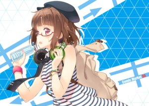 Rating: Safe Score: 43 Tags: headphones hyuuga_azuri megane User: blooregardo