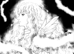 Rating: Safe Score: 3 Tags: berserk griffith male miura_kentarou monochrome User: Radioactive