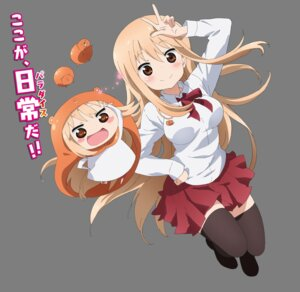 Rating: Safe Score: 45 Tags: chibi doma_umaru dress himouto_umaru-chan seifuku thighhighs transparent_png User: akagiss