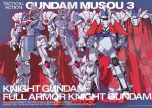 Rating: Safe Score: 6 Tags: crease gundam katoki_hajime knight_gundam mecha sd_gundam User: Rid