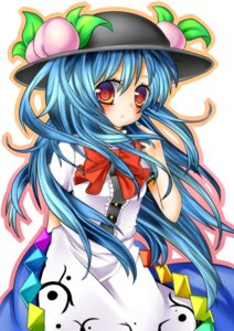 Rating: Safe Score: 4 Tags: hinanawi_tenshi riitan touhou User: Yuffie