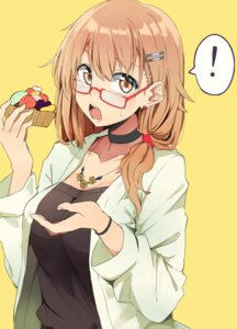 Rating: Safe Score: 45 Tags: cleavage kazenoko megane User: mash