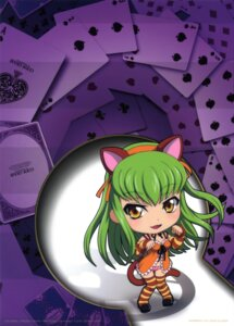Rating: Safe Score: 11 Tags: animal_ears c.c. chibi code_geass kimura_takahiro nekomimi nunnally_in_wonderland pantsu tail thighhighs User: Aurelia