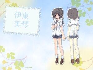Rating: Safe Score: 17 Tags: itou_mikoto koiiro_soramoyou lucie seifuku studio_ryokucha wallpaper User: withul