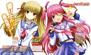 Rating: Safe Score: 30 Tags: angel_beats! satou_rika seifuku yui_(angel_beats!) yusa User: acas