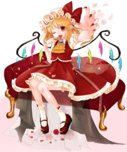 Rating: Safe Score: 19 Tags: flandre_scarlet gotoh510 pointy_ears touhou wings User: Mr_GT