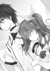 Rating: Questionable Score: 6 Tags: monochrome rakudai_kishi_no_cavalry seifuku stella_vermillion won_(az_hybrid) User: kiyoe