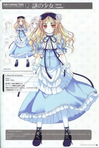 Rating: Safe Score: 13 Tags: avril character_design dress ko~cha profile_page shukufuku_no_campanella sketch User: admin2