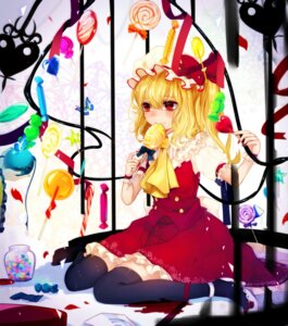 Rating: Safe Score: 18 Tags: flandre_scarlet heels renkarua thighhighs touhou wings User: Mr_GT